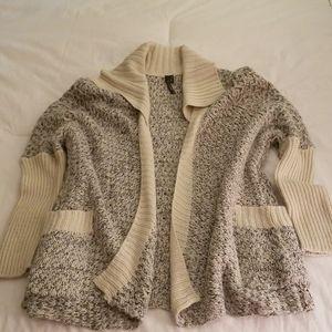 Sweater - Open Cardigan